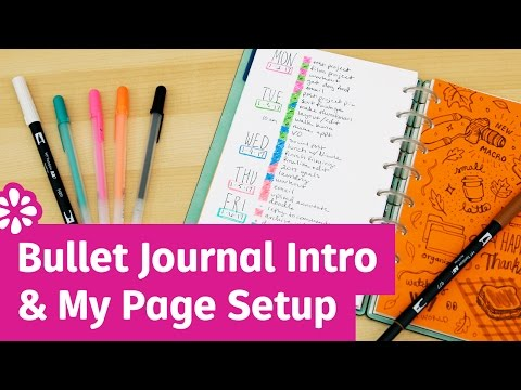 Bullet Journal Introduction & My Page Setup | Sea Lemon