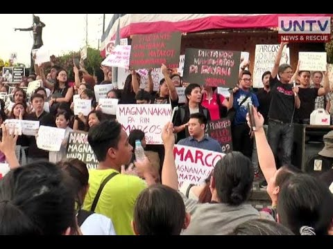 Palace hopes anti-Marcos burial protest won't end as ouster plot