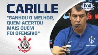 CORINTHIANS PERDE CLÁSSICO PARA O SÃO PAULO POR 1 A 0! Carille fala ao vivo