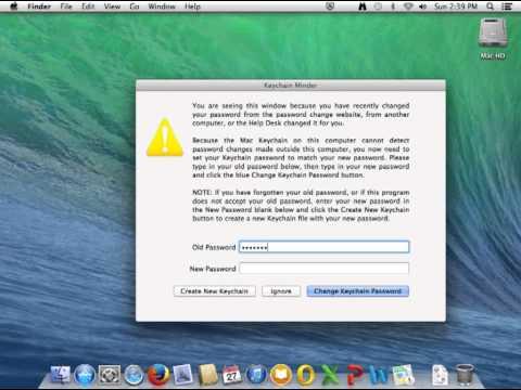 Keychain Minder on OS X Mavericks
