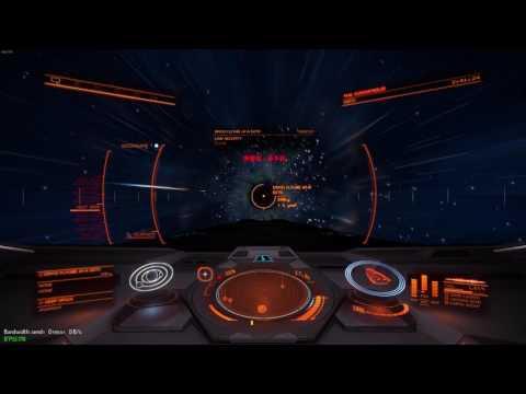 Elite Dangerous - The Scariest Neutron Star I've Ever Seen!