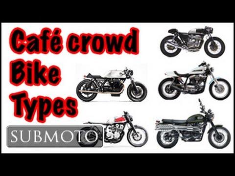 The difference between Café, Tracker, Scrambler, Brat, & rat bikes (Motovlog)