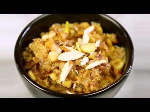 How To Make Dates Halwa at Home   Homemade Dates Halwa Recipe   Quick & Easy Halwa Recipe