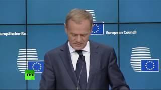 EU heads talk Brexit at European Council Summit 2017