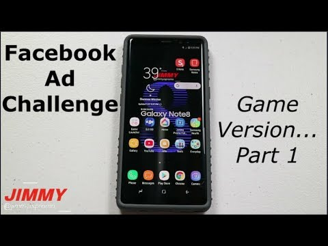 Facebook Ad Challenge - Download Every Game Ad (Part 1)