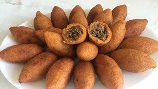 Yapimi Kolay İçli Köfte Tarifi(çatlamayan Içli Köfte Tarifi-ramazan Hazırlıkları)