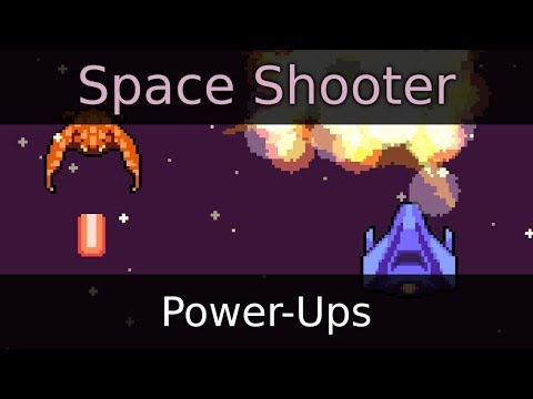 Make a Space Shooter Game in Godot - Power Ups (E14)