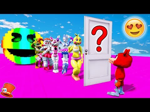 GUESS ADVENTURE FOXY'S MYSTERY DATE! (GTA 5 Mods For Kids FNAF RedHatter)