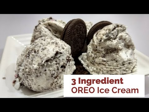 3 Ingredient Oreo Ice Cream Recipe in Hindi by Cooking with Smita
