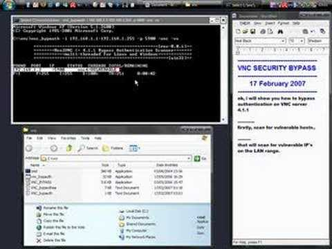 Hacking : Real VNC 4.1.1 Vulnerability