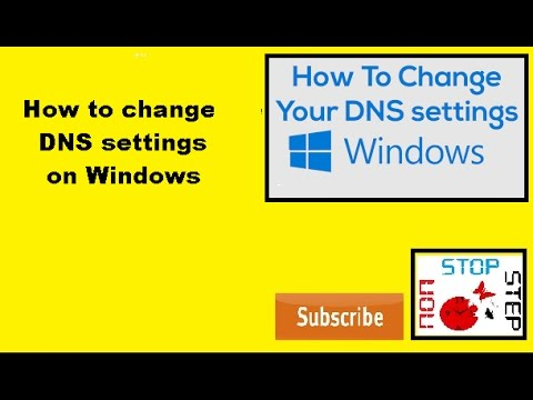 how to change dns settings on windows ultimate/vista/7/8/8.1/10/server 2003/2008/2012/2016