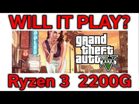 Will it Play? - GTA V - Ryzen 3 2200G - VEGA 8 - Benchmark