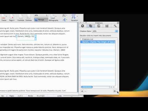 Lesson 2: Edit a citation and a source