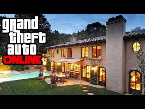 GTA 5 Online: How To Get Inside A Mansion! GTA V Possible House DLC