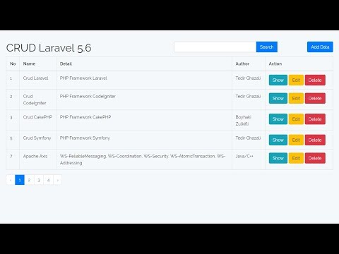 Search Data - CRUD with Laravel [Part 5]
