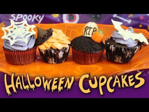 Easy Halloween Cupcake Decorating Ideas. Tasty Delights