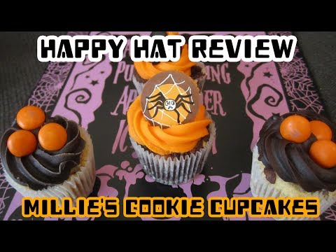 Happy Hat Review - Millie's Cookie Cupcakes (Spooky Edition!)