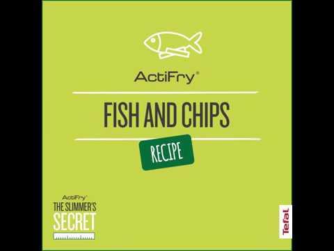 Healthy Fish & Chips Recipe | Slimmer's Secret | Tefal ActiFry