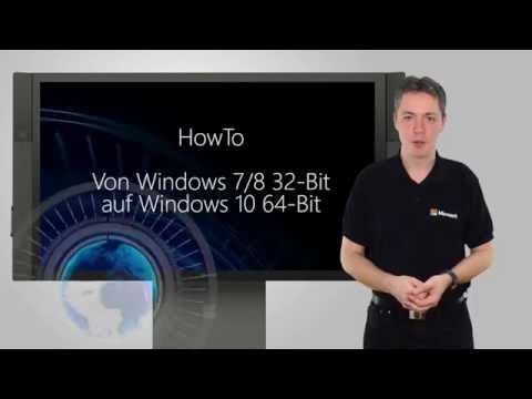 HowTo: Windows 32-Bit auf 64-Bit