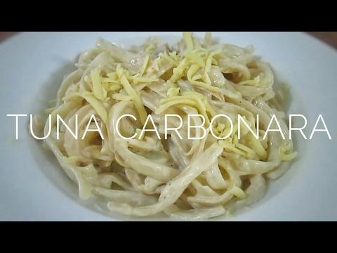 Filipino Style Tuna Carbonara | Food Bae