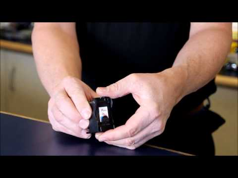 How to Remove a HP 56 Inkjet print Cartridge from the antistatic bag