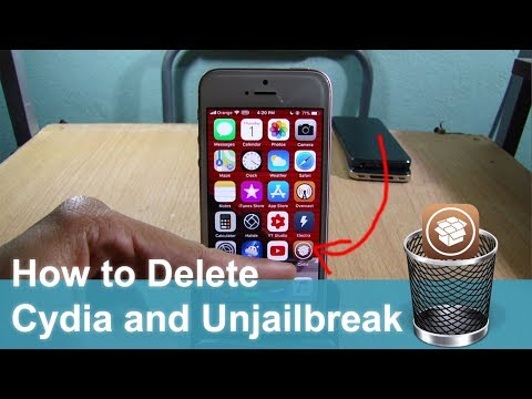 How to Delete Cydia and Electra Jailbreak on iOS 11 - 11.1.2