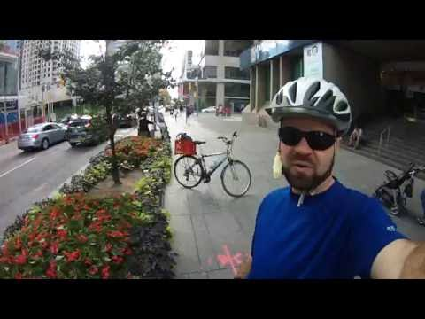 City Cycling - Toronto - Bloor St West (now with Bike Lanes!)