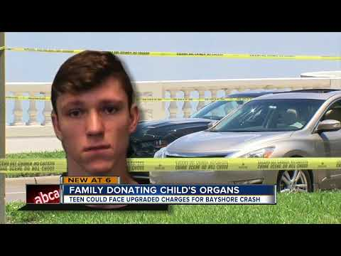 Family of Bayshore victims donating child's organs