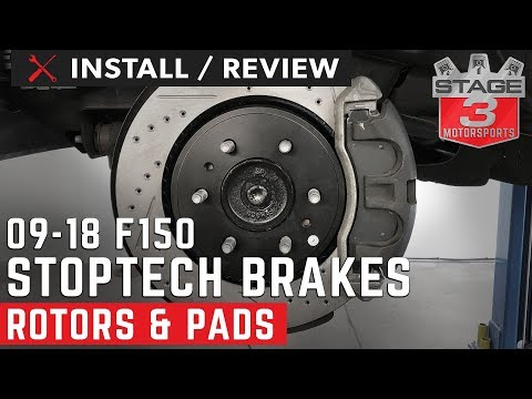 2009-2018 F150 StopTech Front and Rear Brake Kit Install and Review