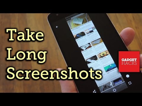 Take Vertically Scrolling Screenshots on Any Android Device [How-To]