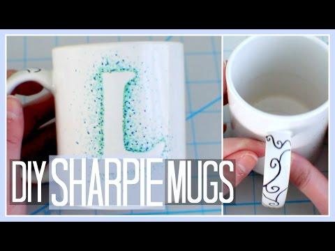 DIY - Sharpie Mugs