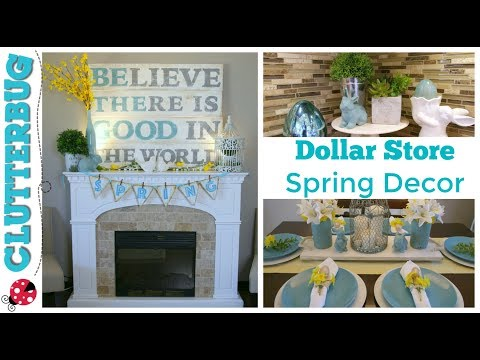 Easy Spring and Easter Decor Ideas - Dollar Store DIY Decorating