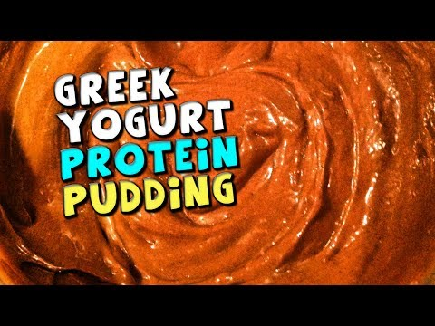 Greek Yogurt PROTEIN Pudding Recipe (Quick & Easy)