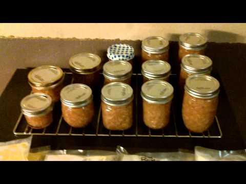 Pear Butter/Honey & Frozen Squash