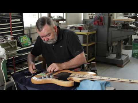 How to upgrade the bridge on your Fender bass guitar