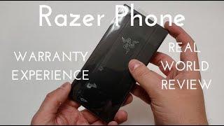 My Razer Phone Warranty Experience! (Real World Review)