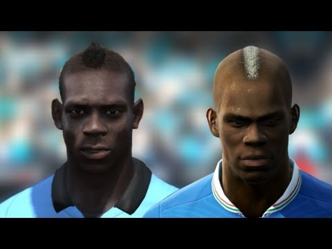 FIFA 13 vs PES 13 Head to Head - Faces #1 | HD 1080p