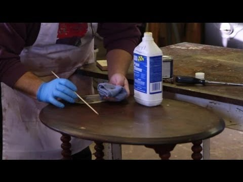 How to Repair Scratches on a Wood Table : Furniture Repair Tips