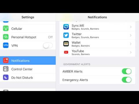 How to Disable Emergency Alerts on iPhone