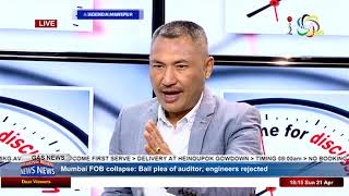 Power line and Safety Issue On Agenda Manipur 21 April 2019