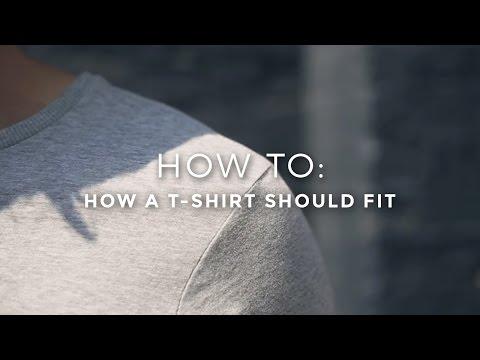 How a T-Shirt Should Fit