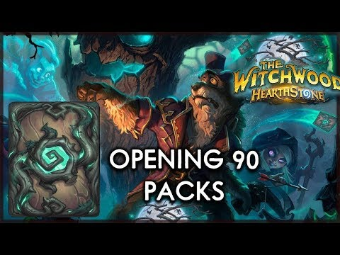 NASSI OPENS 90 WITCHWOOD PACKS - Hearthstone - The Witchwood