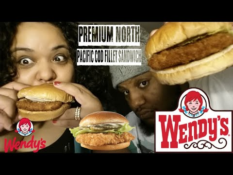 Wendy's Premium North Pacific Cod Fillet Sandwich FOOD REVIEW