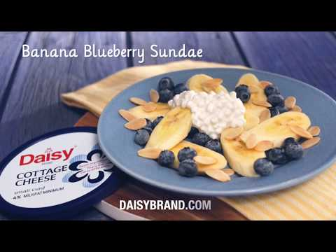 Banana Blueberry Sundae