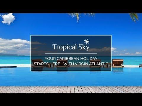 Your Caribbean holiday starts here... with Virgin Atlantic #yourholidaystartshere