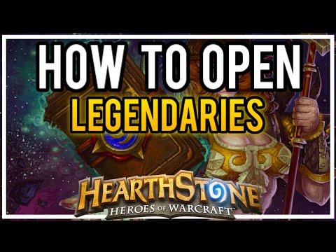 How to Open LEGENDARIES in Hearthstone!