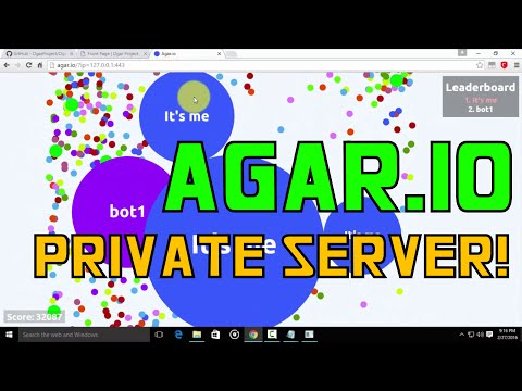 How to Create Agar.io Private Server [Guild]