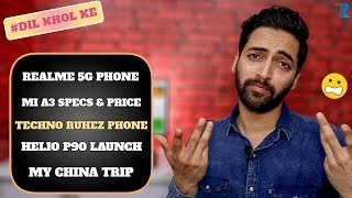 #Ask Ruhez - Poco F2,Redmi Note 8 Pro,Techno Ruhez Smartphone,Realme 5G Phone,No OS Phone,Helio P90