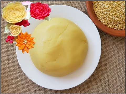 Bean paste recipe | Moong Bean Paste/Edible Mung Beans Paste for cake decorating flowers