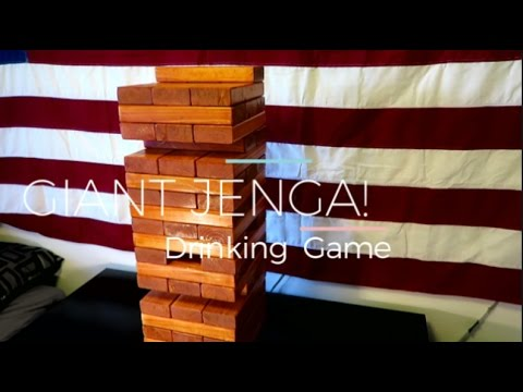 GIANT JENGA: Drinking Game - How to
